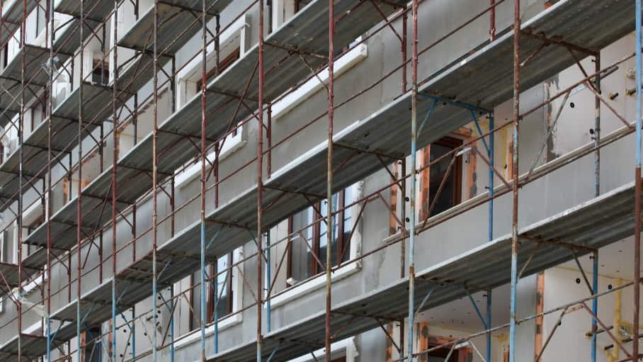 Tre platser att hyra byggnadsställningar i Uddevalla